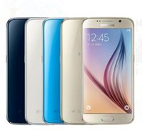 Wholesale galaxy s6 cell phones online – Refurbished Original Samsung Galaxy S6 G920A G920T G920V G920P G920F Cell Phone Octa Core GB GB MP inch G LTE Cellphone
