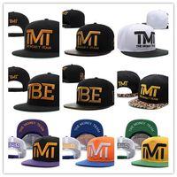 Wholesale full money - Hot Style Good Quality Wholesale-Full black the team money Snapback caps hiphop adjustable hat men & women classic baseball Hats Cheap