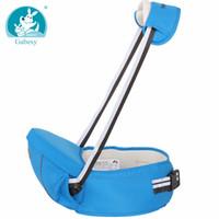 portabebés al por mayor-Reflectante de noche ergonómico hipseat Waist Stool Walkers Portabebé Sling Hold Cinturón de cintura Mochila Hipseat Belt Kids Infant Hip Seat