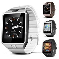 3g смартфон смотреть оптовых-QW09 Android 3g Smart Watch Wifi Bluetooth 4.0 MTK6572 двухъядерный 512 МБ оперативной памяти 4 ГБ ROM шагомер 3G Smartwatch телефон высокое качество