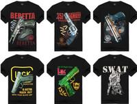 512903643ba0 New Fashion Men women's No Guns 3D Print Tees Short Sleeve T-Shirt 100%  Cotton X Cool Casual pride t shirt men Unisex New