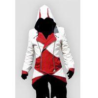 Wholesale assassins creed costumes online - Assassins Creed III Conner Kenway Hoodie Jacket Aassassins Creed Costume Connor Cosplay Novelty Sweatshirt Hoody Jacket Men
