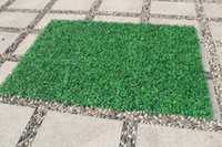 40x60cm Green Grass Artificial Turf Plants Garden Ornament Plastic Lawns Carpet Wall Balcony Fence For Home garden Decoracion