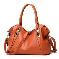 Wholesale hobo bags online - Yogodlns Designer Women Handbag Female PU Leather Bags Handbags Ladies Portable Shoulder Bag Office Ladies Hobos Bag Totes