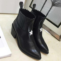 Wholesale boots large sizes resale online - Large Size New Style Autumn and Winter Martin Women Boots Shoes brand fashion luxury designer women shoes