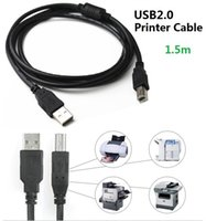 ingrosso scanner piombo-Cavo stampante Cavo USB 2.0 ad alta velocità Cavo da A a B Schermato Collegare dispositivi USB Per scanner esterni di stampanti