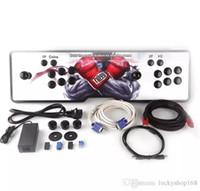 joystick computer großhandel-Neues Design, American Joystick, Die neue Pandora Box 4S Arcade-Konsolen, 680 Programme, HDMI VGA-Ausgang, mit dem Computer verbunden, Fügen Sie Pause und beenden