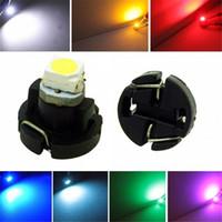 luz do painel t5 venda por atacado-T3 Levou 3528 1210 1 SMD Carro Luzes Indicadoras LED Dashboard Instrument Dash Lamp Calibres De Vidro Para Auto DC DC 12 V 7 Cores