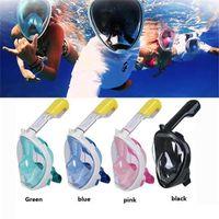 Wholesale latest masks for sale - Group buy S M L XL Latest Underwater Diving Mask Snorkel Set Swimming Training Scuba mergulho full face snorkeling mask Anti Fog For Camera M773