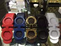 Wholesale New belt big buckle designer belts fashion luxury belts for mens brand buckle belt top quality mens leather belts