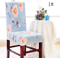 Wholesale room chair covers - Chair Cover,Removable Washable Elastic Stretch Slipcovers Short Dining Room Chair Seat Cover Protector Seat Slipcover