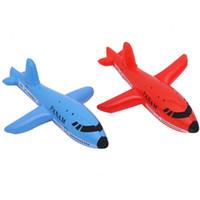 plastik aufblasbare karikaturen großhandel-Neue aufblasbare Flugzeug Cartoon Flugzeug Passagierflugzeug PVC Kunststoff Luftballons Flugzeuge Spielzeug Ballon Kind Schwimmen Geburtstagsgeschenk Classic Toys