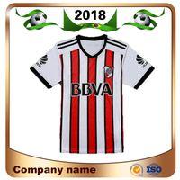 17 nehir toptan satış-Üst Tay Baskı 2018 Nehir plakası Futbol forması 17/18 Riverbed Kulübü Üçüncü Awany Futbol Gömlek Kısa kollu futbol üniformaları