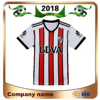 Wholesale football shirts thai for sale - Group buy Top Thai Edition River plate Soccer jersey Riverbed Club Third Awany Soccer Shirt Short sleeved football uniforms