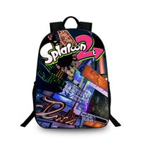 Wholesale good gifts for girls online - 2018 New Fashion Splatoon Backpack Youth Games D Printing Book s and Girls Good Gifts for Children Back School H221