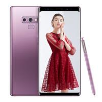 pluma 4g al por mayor-ERQIYU Goophone note9 note 9 smartphones con Touch Pen 6.4inch Android 9.0 sim dual se muestra 128G ROM 4G LTE celulares