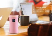 Wholesale Wholesale Cars Air Fresh - Genuine 230ML Mini USB Humidifier Diffuser Ultrasonic Cool Mist Fresh Air Spa Aromatherapy Home Office Car Diffusers Purifier Humidifiers