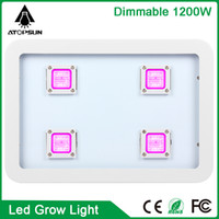 Wholesale Led Super Plant - 2pcs Full Spectrum Super Power 1200W 1500W 1800W LED Grow Light AC85-265V Indoor Growth Plants Lamp Flower Vegetable Tent Box#40