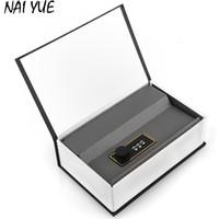 Wholesale plastic book storage - Luxury Style Black Dictionary Book Design Hidden Secret Storage Box Valuables Safety Money Cash Box Security Password