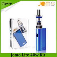 Wholesale kanger box kit for sale - Group buy Jomo Lite w ML Vapor Tank E Cigarette Kits Box Mod Lite w vapor mod kit VS Kanger subox MINI Kit