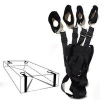 Wholesale bedding for adults online - Under Bed BDSM Bondage Restraint System Fetish Adult Games Set Wrists Ankle Cuffs Sex Toys for Couples J1838