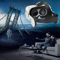 3d película x al por mayor-Grandes auriculares FOV VR con auriculares 3D Gafas de realidad virtual para Iphone X Note 8 Lenove Huawei 3D Video Movie Game Spectacles
