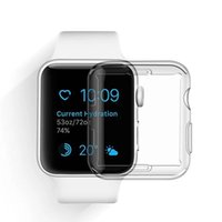 Wholesale soft touch watches resale online - 2018 For Iwatch Case mm mm D Touch Ultra Clear Soft TPU Cover Bumper Apple Watch Series Screen Protector for New Apple Watch Case