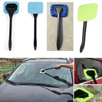 Wholesale floor care - New Cleaning Brushes Car Windshield Wiper Cleaning Towel Brush Vehicle Windshield Shine Care Dust Remover Auto Home Glass Cleaner HH7-1099