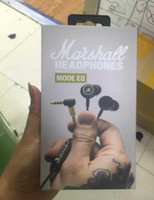 Wholesale pc modes - In stock! Marshall MODE EQ Earphone & Headphone With Mic In Ear Headset Universal Fashion HIFI Earphones For Mobile Phone PC Computer