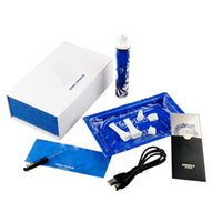 Wholesale snoop dogg e pen online - snoop pen pro blue and white dry herb herbal vaporizer pen starter kit kits e cigs vaporizador coil gproo replacement g dogg cigarette