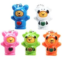 Wholesale toys change shape online - Cartoon Animal Shape Key Chain Creative Mask Changing Doll Decompression Toy For Children Gifts Many Styles hb C R