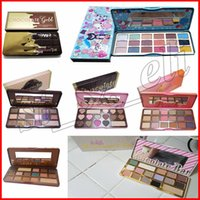 Wholesale sweet wholesalers - Faced Makeup Sweet peach Makeup Eye Shadow White Chocolate Bar Semi-sweet 16 Colors Semi Sweet Peach Chocolate Gold Eyeshadow Palette DHL