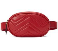 Wholesale waist bag patterns resale online - New Designer leather Love heart V Wave Pattern waist bags women men shoulder bags Belt Shoulder Bag Women chain Bags Handbags