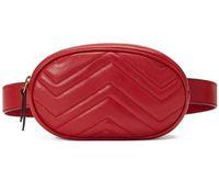 bolsa de cintura de couro feminino venda por atacado-Novo Designer de couro Amor coração V Padrão de Onda sacos de cintura das mulheres dos homens sacos de ombro Cinto Bolsa de Ombro Sacos de cadeia de Mulheres Bolsas