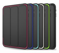Wholesale ipad air waterproof case for sale - New Magnetic Smart Cover Back Case For New iPad Air Mini iPad pro Folding Case With Auto Sleep Wake OPP BAG