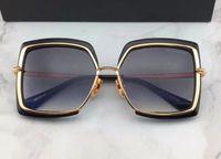 d7ede04516814 Homme Carré Or   Noir Lunettes de soleil Lunettes de soleil de luxe gafas  de sol Lunettes de soleil design Lunettes vintage Neuf avec boîte  DNUM180721-6