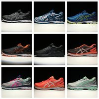 Wholesale Pink Wrestling Shoes - Asics GEL-KAYANO 23 Men Women Running Shoes Top Quality Cheap Training 2018 Lightweight Walking Sport Shoes Free Shipping Size 4-11