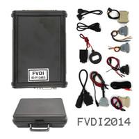 fvdi full оптовых-Полная версия V2014 FVDI (включая програмное обеспечение 18) командир Fvdi ABRITES инструмент блока развертки Fvdi диагностический в штоке DHL освобождает