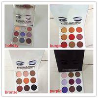 Wholesale Palette Colors - THE BURGUNDY PALETTE | Cosmetics Kyshadow eye shadow Kit Eyeshadow BRONZE and BURGUNDY Palette Preorder Cosmetic 9 Colors