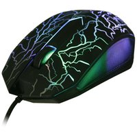 Wholesale Led Backlit Computer - BM007 USB Wired Optical Gaming Mouse 1600DPI LED Backlit Gamer Mice for pro Game Computer for Windows   Vista System