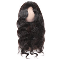 Wholesale brazilian human hair cheap prices online - Cheap A Brazilian Body Wave Lace Frontal Peruvian Malaysian Indian Virgin Human Hair Price inch Natural Color
