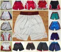Wholesale grey sweatpants - New Season Basketball Shorts Breathable Dwyane Wade Goran Dragic Hassan Whiteside Basketball Pants George Anthony Westbrook Sweatpants S-2XL