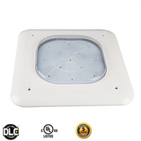 Wholesale fixture canopy - DLC & ETL listed 100W 130W 150W LED Gas Station Canopy Light Warehouse Parking lot Lamp Commercial Lighting Retrofit Celling Light Fixture