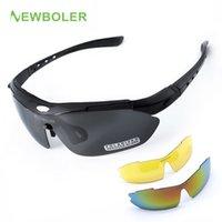 3a9f183be74 NEWBOLER Man Women Polarized Cycling Eyewear Outdoor Sports SunGlasses MTB  Bike Racing Bicycle Sunglasses Goggle+3 Lens. Supplier  diedou