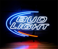 ingrosso segno al neon di birra leggera-New Star Neon Sign Factory 17X14 pollici Real Glass Glass Sign Light per Beer Bar Pub Garage Room Bud Light.