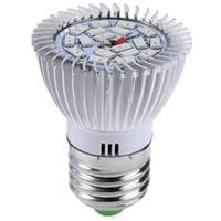 Wholesale Grow Energy - New E27 LED Grow Light 18 LEDs 8W LED High Efficient Grow Light Environmentally Energy-saving For Plants Long Service Life 1pcs