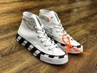 zapatos de correr para mujer al por mayor-Venta caliente el más nuevo diseñador de All Star zapatos de skate para hombre para mujer High Top Classic Canvas running shoes size35 ~ 44