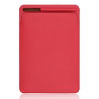 ingrosso ipad protetto-Custodia protettiva in pelle con rivestimento posteriore in poliuretano per iPad 2/3/4 ipad mini 1/2/3 4 air air2 ipad pro 9.7 ''