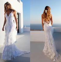 sexy lange abendkleider großhandel-Dame Luxus Weißes Langes Kleid für Dinner-Party Tiefer Veck Rückenfreies Kleid Sexy Ärmellose Lange Röcke für Konzert-Dating