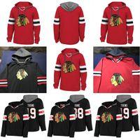 Wholesale hockey hoodies - Chicago Blackhawks Hockey Hoodies 88 Patrick Kane 2 Duncan Keith 50 Corey Crawford 19 Jonathan Toews Hoodie Sweatshirt Stiched Any Name